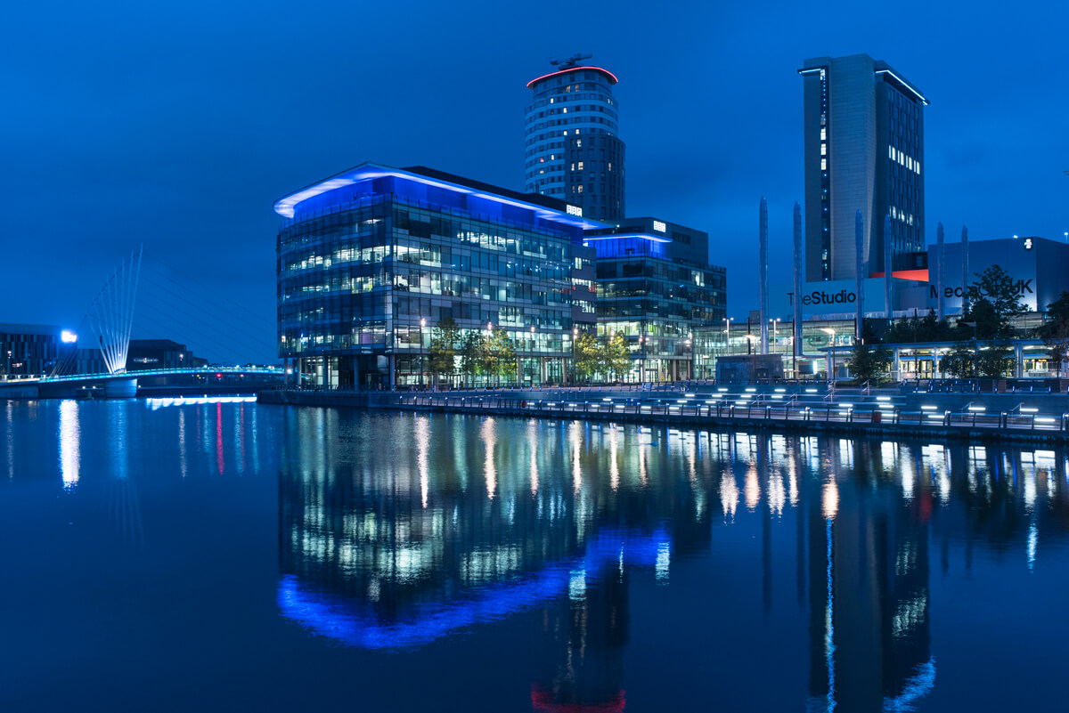 Architectural photography Manchester – BBC Media City Salford photography