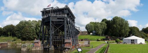 Anderton Boat Lift large scale panoramic photography Nat West