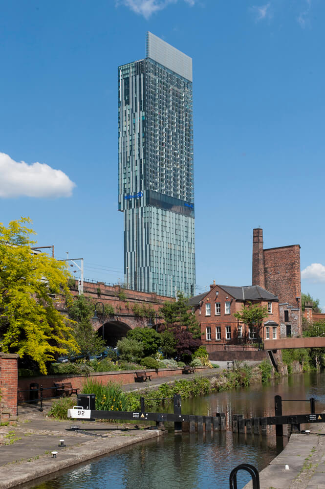 Beetham Tower Urban Landscape photograph