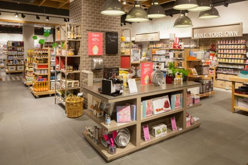 Retail interior photography Manchester