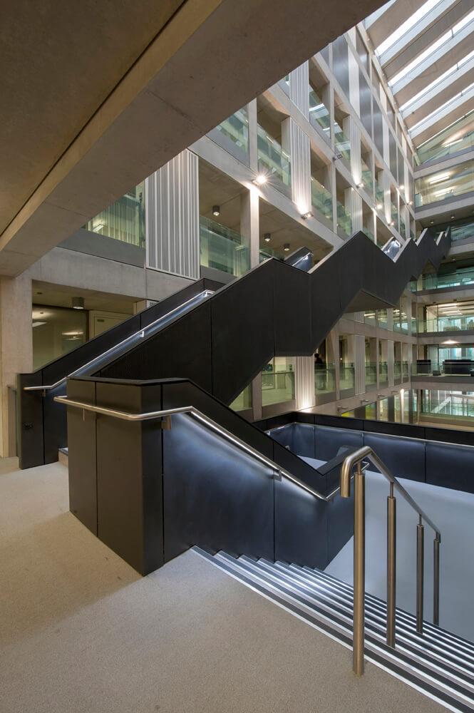 Manchester Metropolitan University interior photograph