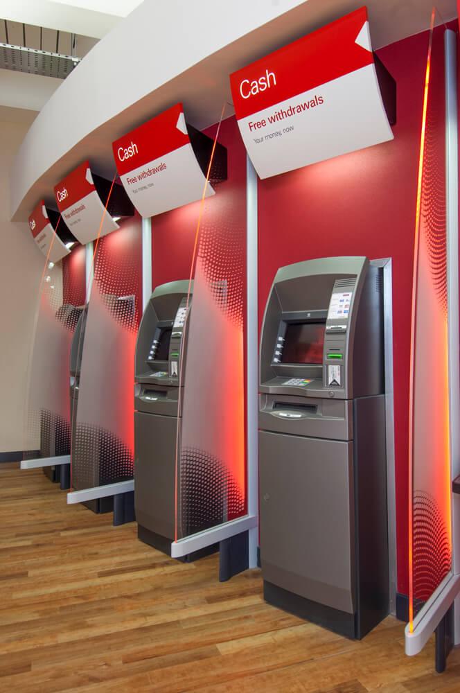 Retail Banking ATM machines HSBC