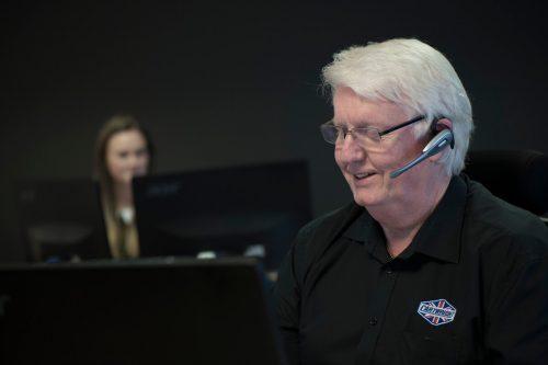 Call centre staff location portraits