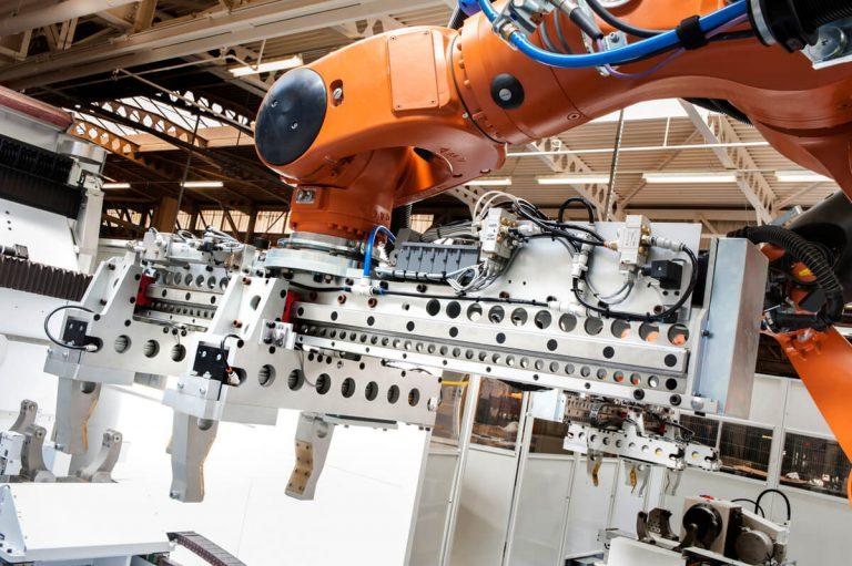 Industrial robot photograph Manchester
