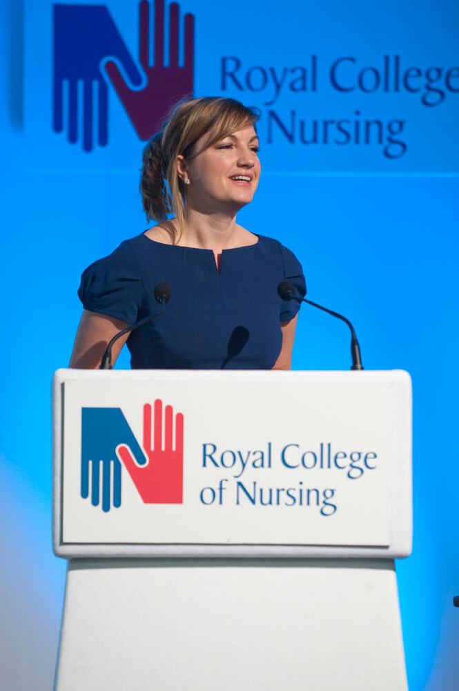Royal College of Nursing Manchester conference photography