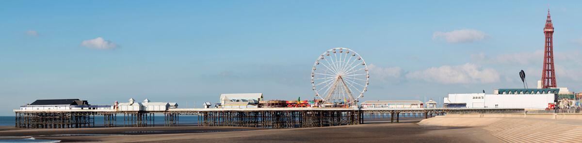 Blackpool panoramic photography