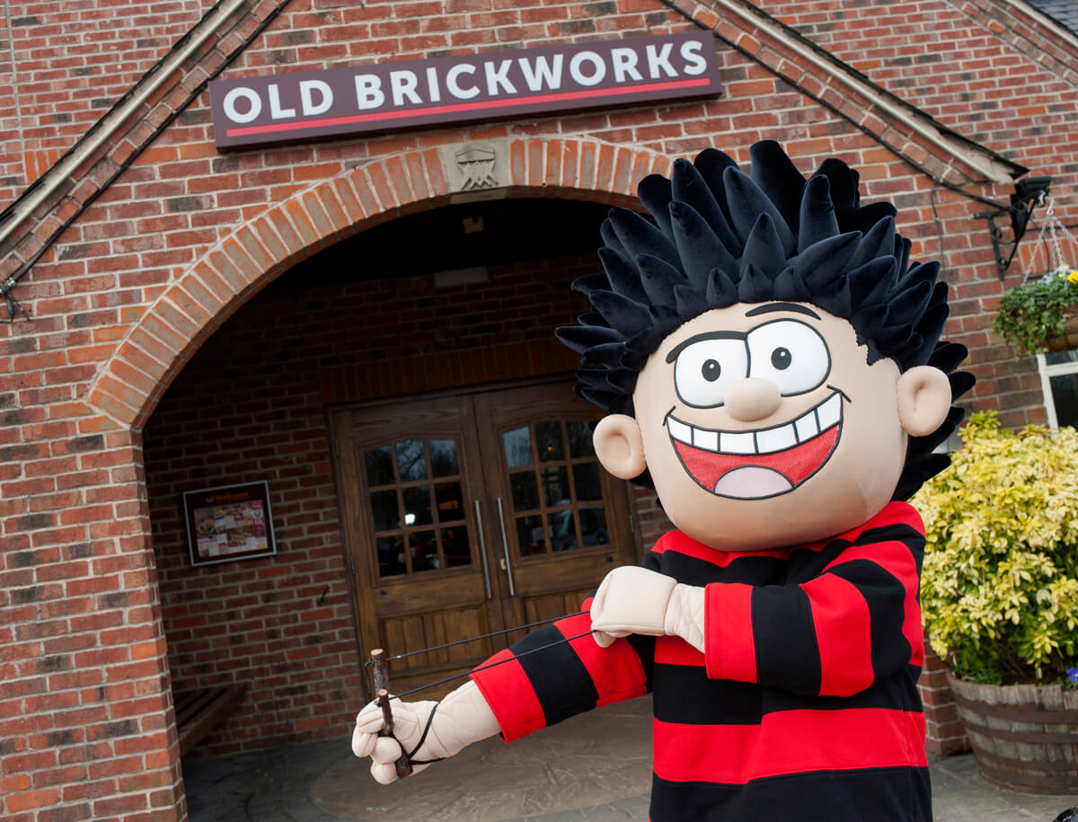 PR photo Dennis the Menace Manchester