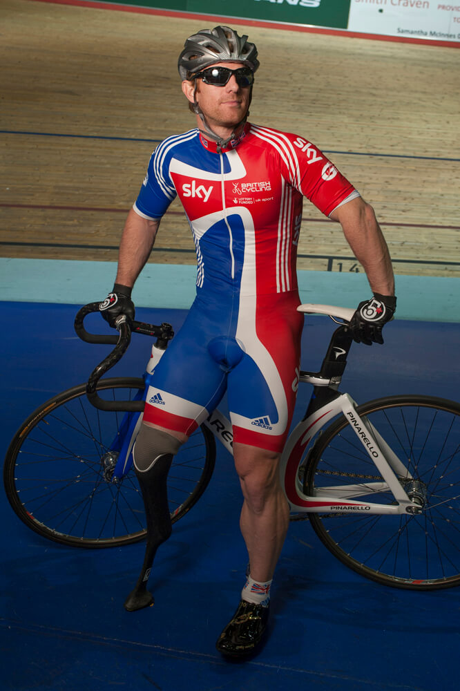 Portrait at Manchester Velodrome