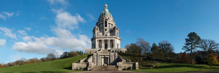 Ashton memorial Lancaster panoramic photo