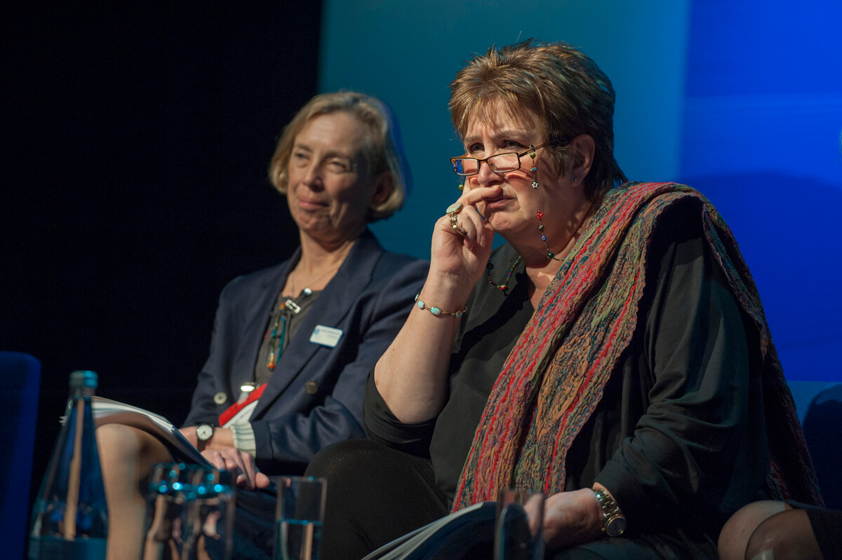 Dame Jenni Murray Manchester conference photograph