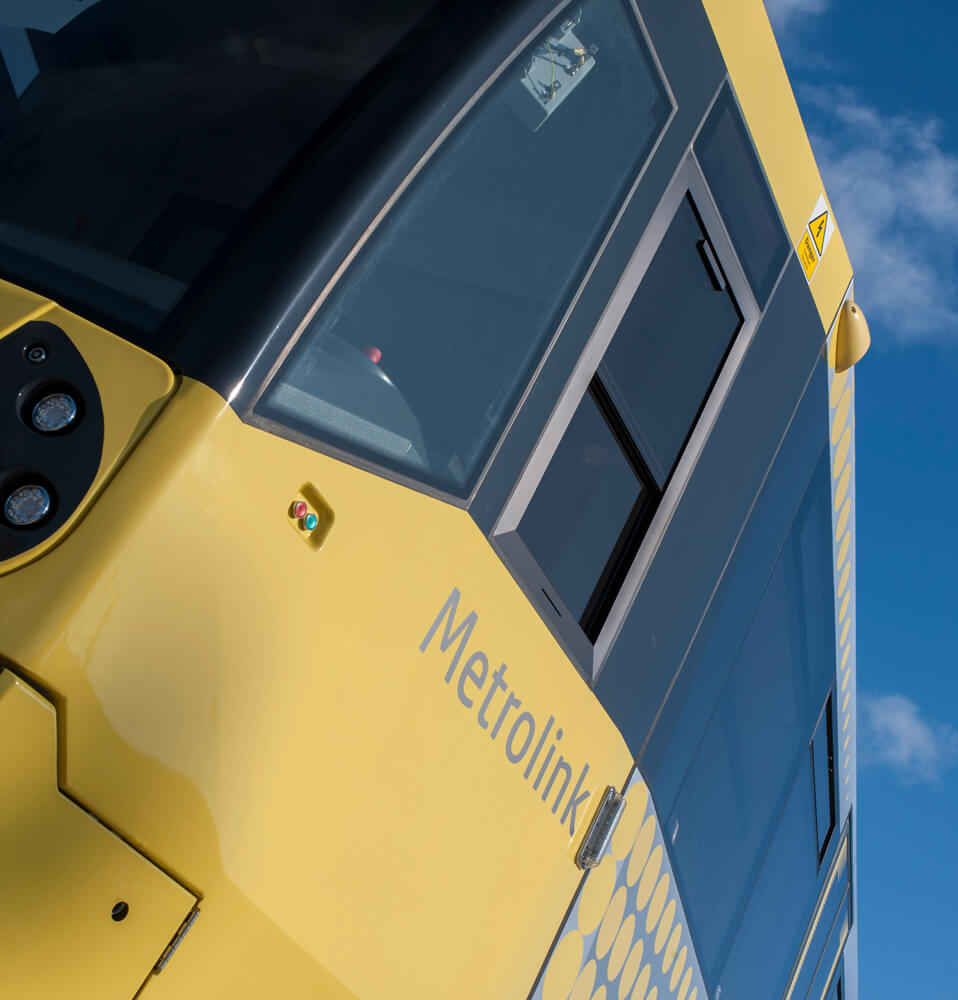 GMPTE New tram delivery Manchester