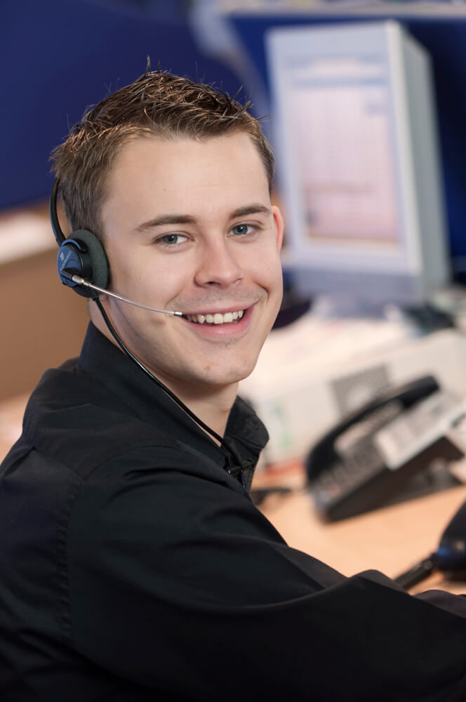 Call centre advertisement