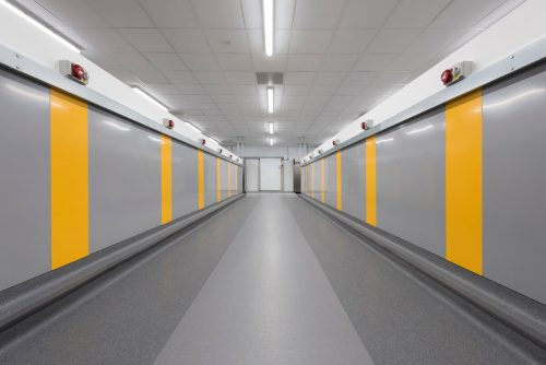 Interior commercial photograph Salford Royal Hospital