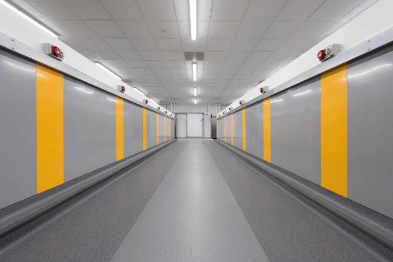 Interior commercial photograph Salford Royal Hospital