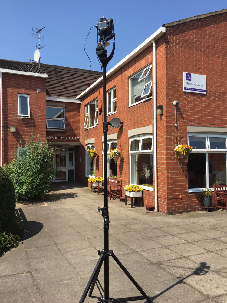 Aerial and mast photography Manchester